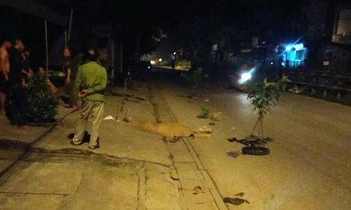 Hoảng hốt phát hiện hai nam thanh niên thương vong cạnh chiếc xe máy 1