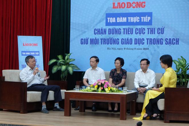 """Cục trưởng Mai Văn Trinh nói về các thí sinh thực lực sau gian lận thi cử: """"Một số thí sinh mất cơ hội theo trường nguyện vọng nhưng các em vẫn nên tự hào"""" 2"""