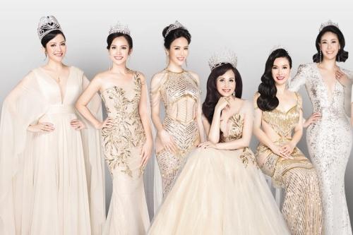 Hình ảnh 14 Hoa hậu Việt Nam lần đầu đọ sắc sau 30 năm số 1