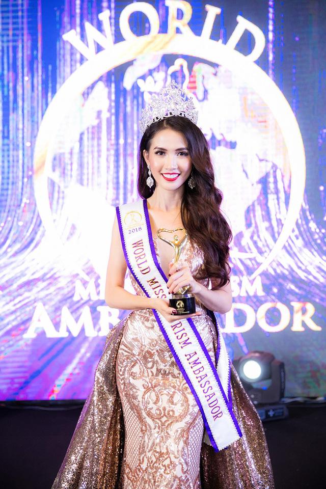 Phan Thị Mơ nói gì sau khi đăng quang Hoa hậu Đại sứ du lịch thế giới 2018 2