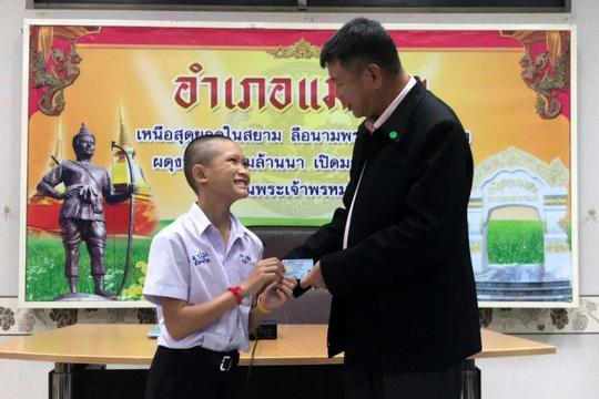 Thái Lan: 4 thành viên đội bóng mắc kẹt được cấp quốc tịch 1