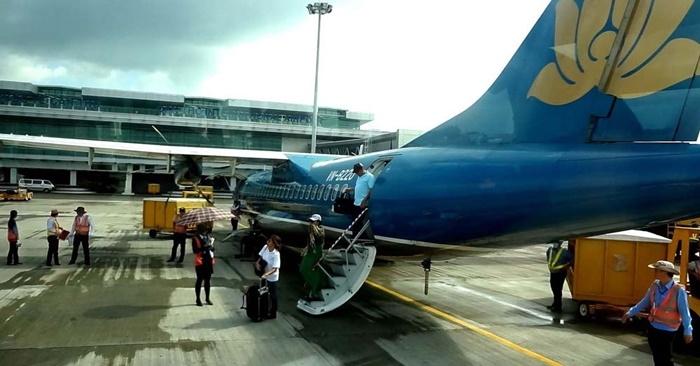Hình ảnh Máy bay Hà Nội đi Cần Thơ bất ngờ hạ cánh ở Phnom Penh số 1