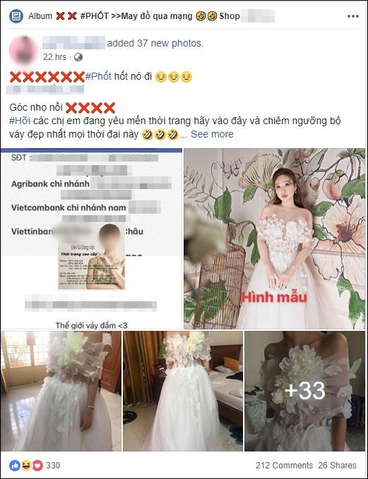 Cô gái háo hức đặt may váy tiền triệu đi dự tiệc công ty, nhưng kết quả nhận được hệt như trang phục diễn văn nghệ thiếu nhi 1