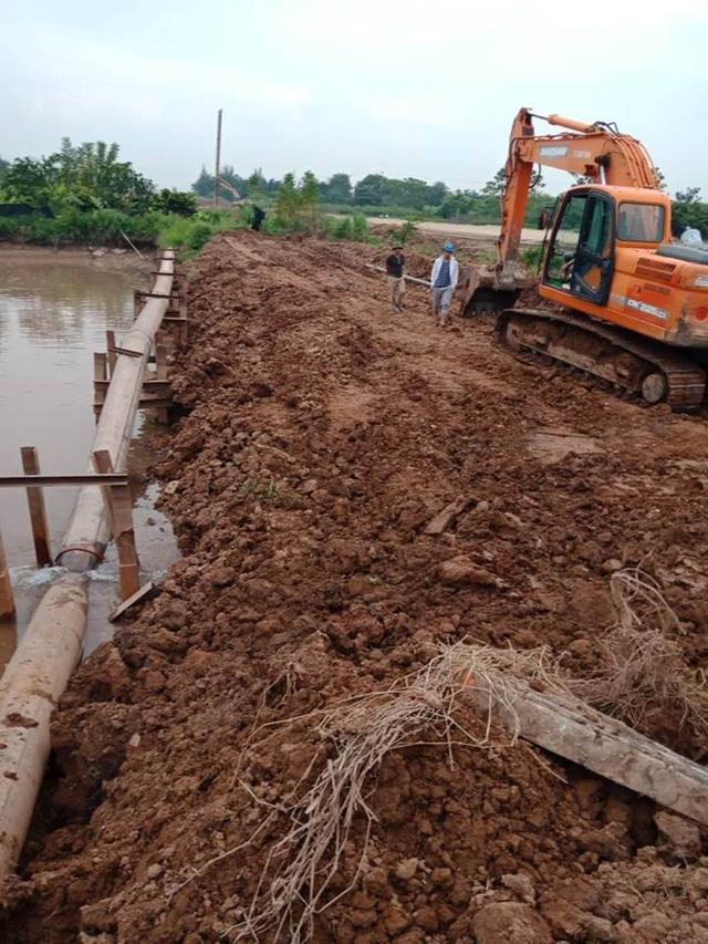 40.000 hộ dân ở Hà Nội thiếu nước sạch vì đường ống dẫn nước bị gãy 3