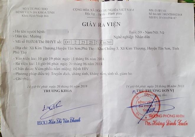 Thực hư thông tin dùng chung kim tiêm gây nhiễm HIV ở Phú Thọ 1