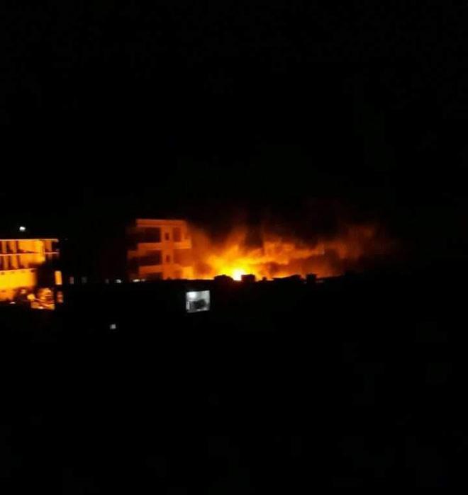 NÓNG: Nổ kho vũ khí tại Syria, gần 40 người thiệt mạng 1