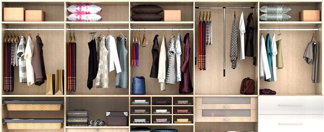 Mách bạn thiết kế tủ quần áo chuẩn chỉnh cho từng người trong gia đình 1