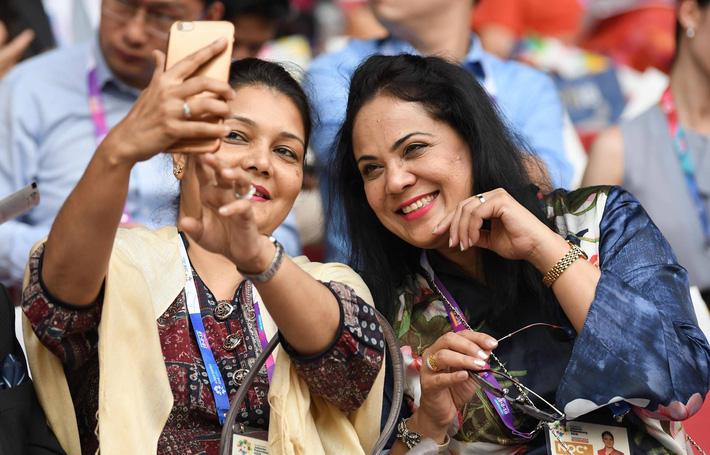 Trực tiếp lễ khai mạc đầy tham vọng của chủ nhà Asiad 2018 - Indonesia 32
