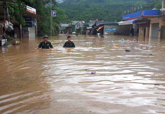 Toàn cảnh mưa lũ tại Nghệ An nhìn từ trên cao 7