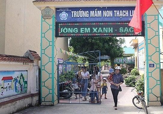 Hàng trăm trẻ mầm non ở Hà Tĩnh bị từ chối nhận lớp trong ngày tựu trường 1