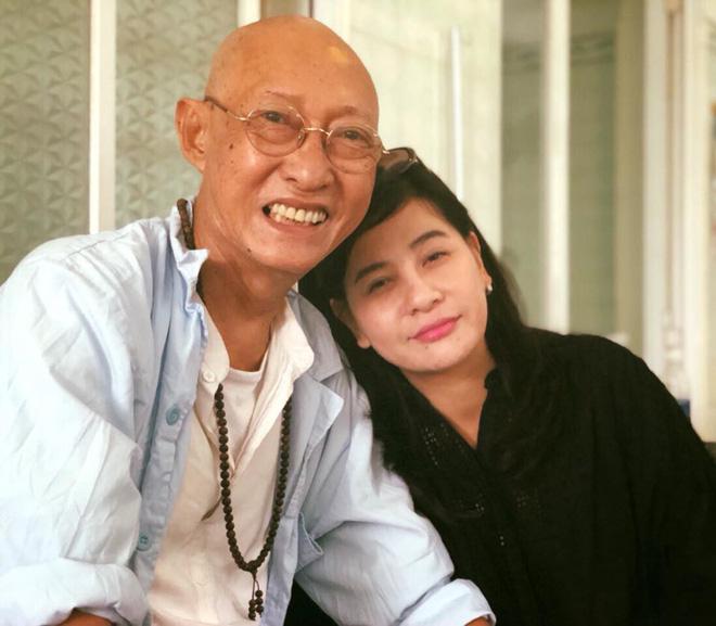 Cát Phượng vào bệnh viện trao cho Mai Phương 300 triệu, thăm hỏi sức khoẻ diễn viên Lê Bình 4