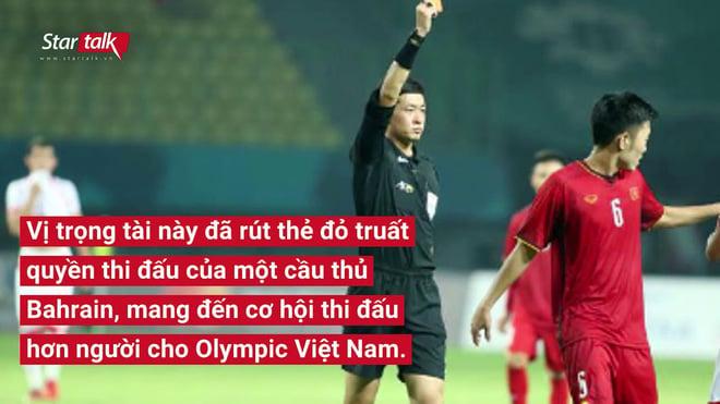 Info trọng tài người Trung Quốc đẹp trai nhất trận Việt Nam - Bahrain tối qua 6