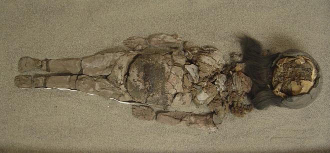 Bí ẩn xác ướp tồn tại cả nghìn năm bỗng nhiên... hóa lỏng 1
