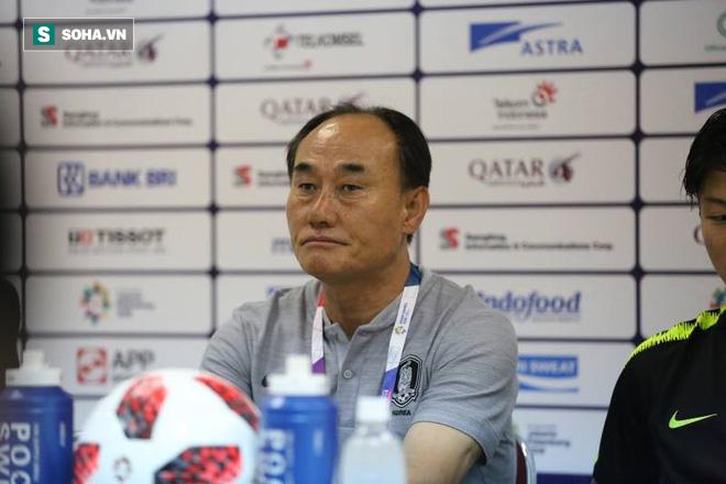 """HLV Hàn Quốc thừa nhận kiệt sức, nói """"rất tiếc"""" cho thầy Park sau màn hạ gục U23 Việt Nam 1"""