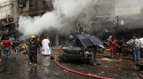 Đánh bom trạm kiểm soát ở Iraq, 8 người thiệt mạng 1