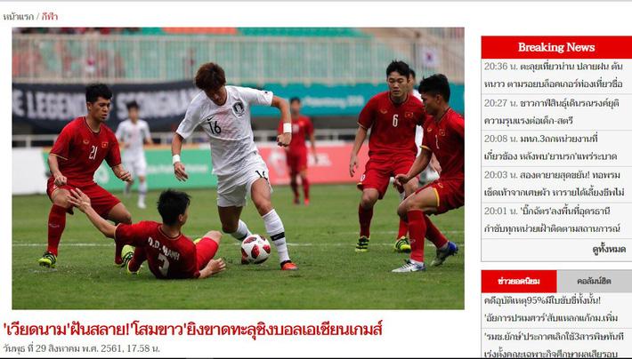 """Trong niềm cảm thông, báo Thái Lan nói về """"giấc mơ cuối cùng"""" của U23 Việt Nam 2"""