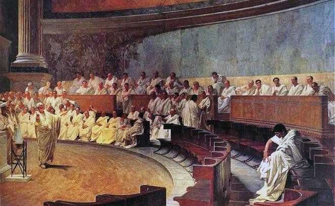 Bí kíp để tồn tại trong xã hội La Mã xưa là mặt dày, vì gạch đá online ngày nay không bằng một góc 2