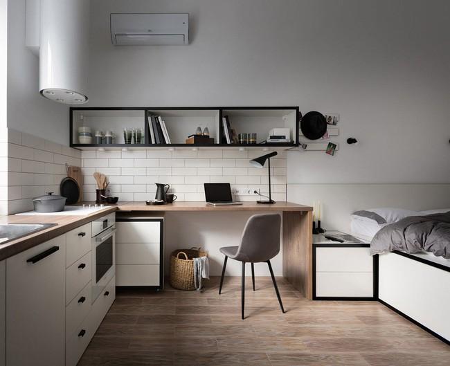Căn hộ nhỏ vỏn vẹn gần 18m² này chứng minh cho bạn thấy ở nhà nhỏ vẫn tuyệt như nhà to - Ảnh 1.