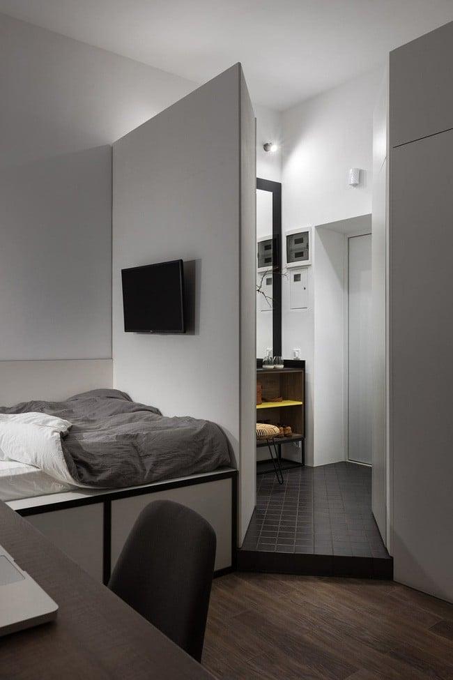 Căn hộ nhỏ vỏn vẹn gần 18m² này chứng minh cho bạn thấy ở nhà nhỏ vẫn tuyệt như nhà to - Ảnh 13.