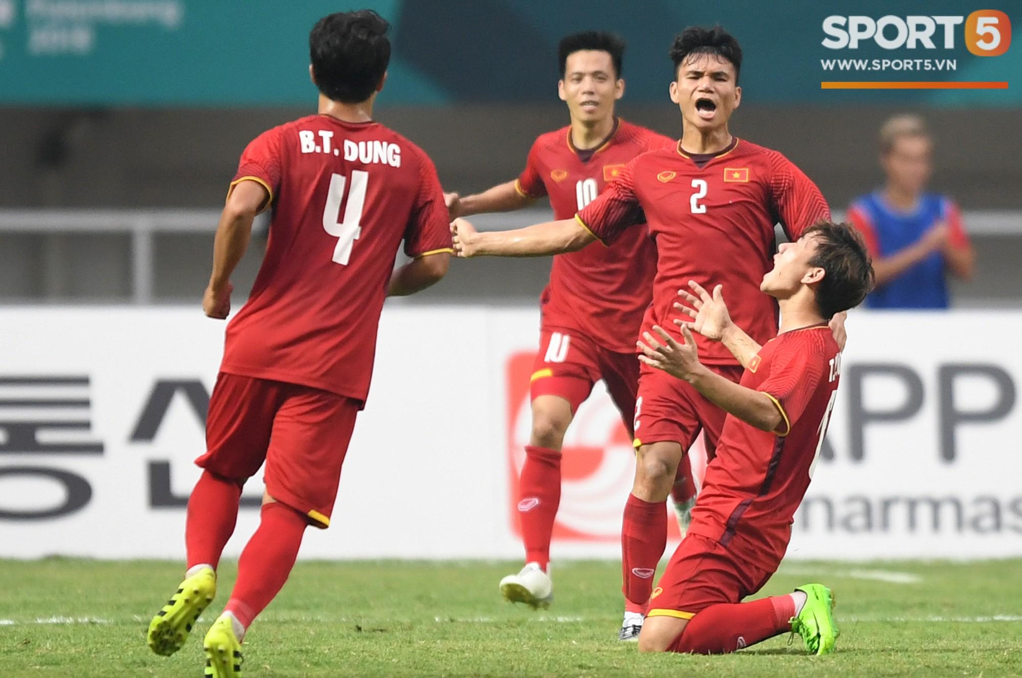 Lịch sử chống lại Olympic Việt Nam trước trận đấu với UAE 1