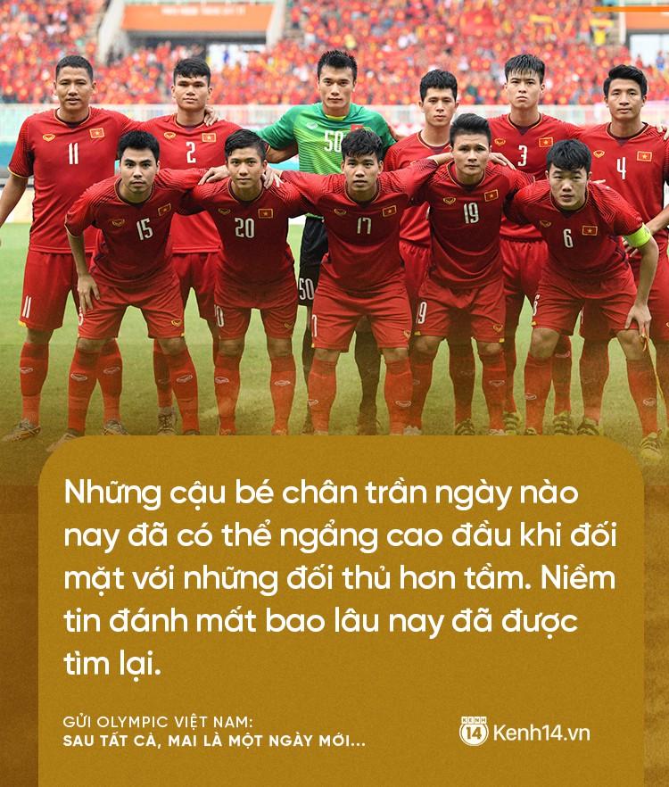 Từ CĐV gửi Olympic Việt Nam: Không sao cả, vì đã yêu thương nên chúng tôi nhất định tiếp tục yêu thương! 1