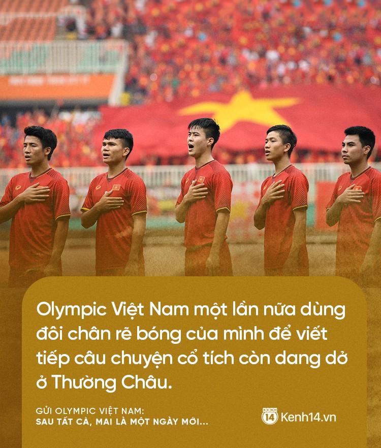 Từ CĐV gửi Olympic Việt Nam: Không sao cả, vì đã yêu thương nên chúng tôi nhất định tiếp tục yêu thương! 3