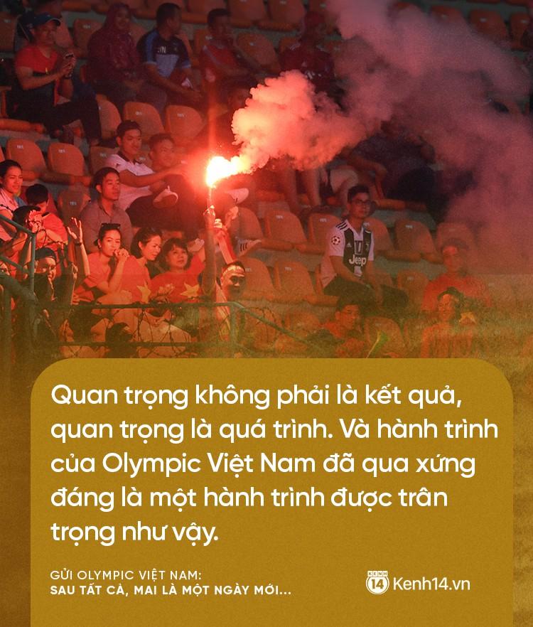 Từ CĐV gửi Olympic Việt Nam: Không sao cả, vì đã yêu thương nên chúng tôi nhất định tiếp tục yêu thương! 5