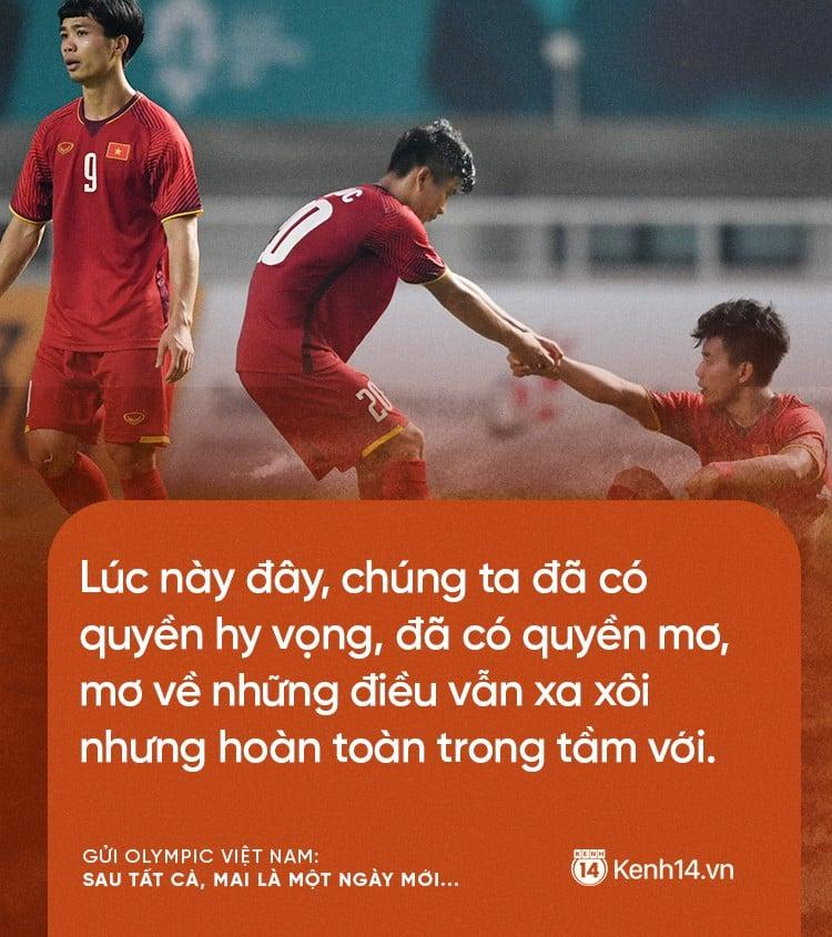 Từ CĐV gửi Olympic Việt Nam: Không sao cả, vì đã yêu thương nên chúng tôi nhất định tiếp tục yêu thương! 6