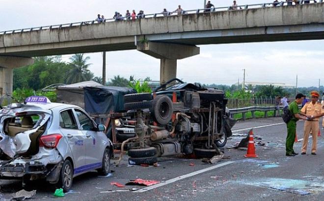 13 người chết do tai nạn giao thông trong ngày Quốc khánh 1