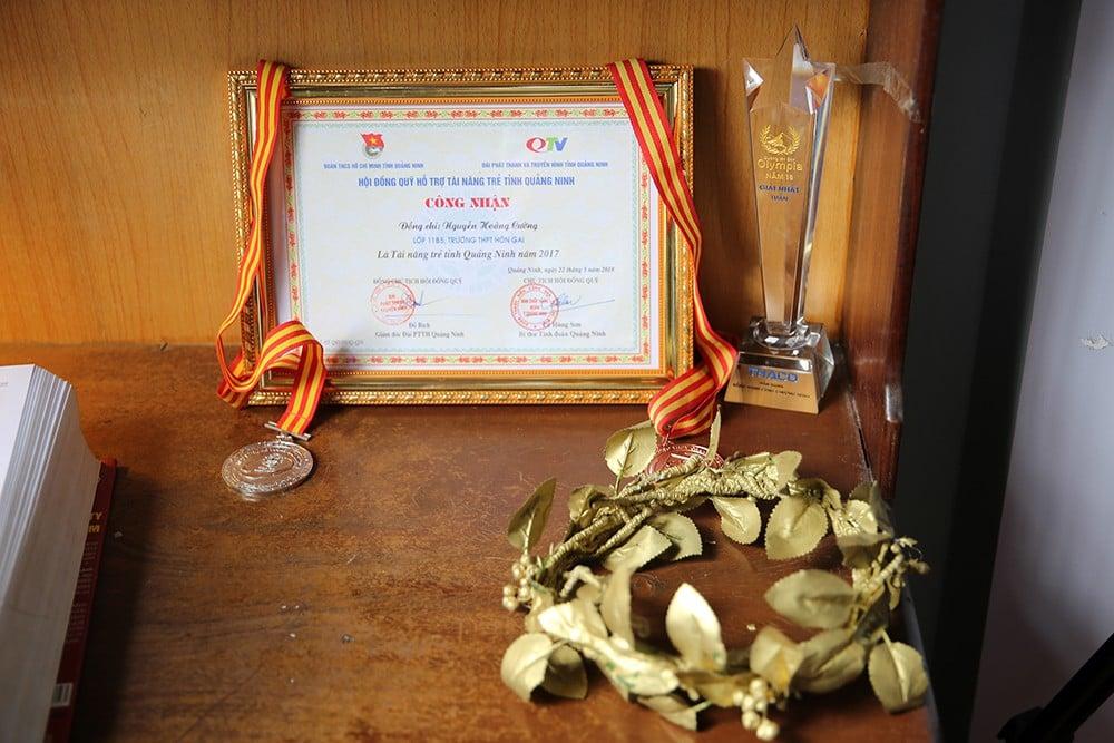Thành tích học tập đáng nể của quán quân Đường lên đỉnh Olympia năm 18: Nguyễn Hoàng Cường (Quảng Ninh) 4