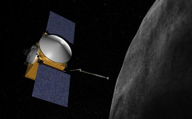 Tàu vũ trụ của NASA tiếp cận hành tinh cổ Bennu 1