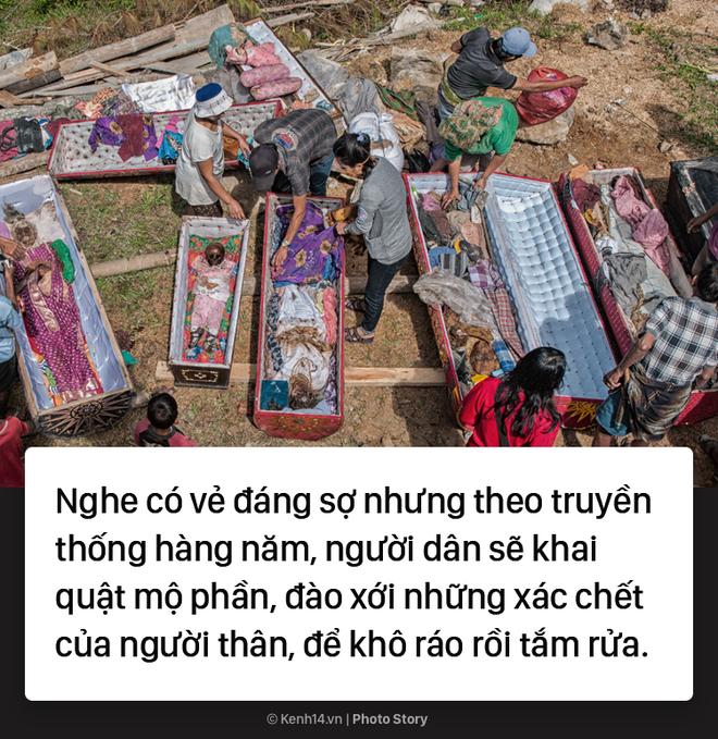 Đào mộ và tắm rửa cho xác chết, đây là cách người Indonesia giúp linh hồn siêu thoát 2