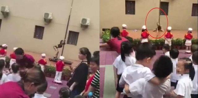 Trường mẫu giáo tổ chức biểu diễn múa cột phản cảm trong lễ khai giảng 1