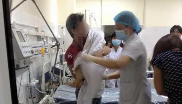 Cảnh báo: Cháu bé 6 tuổi chết não vì hóc hạt nhãn 1