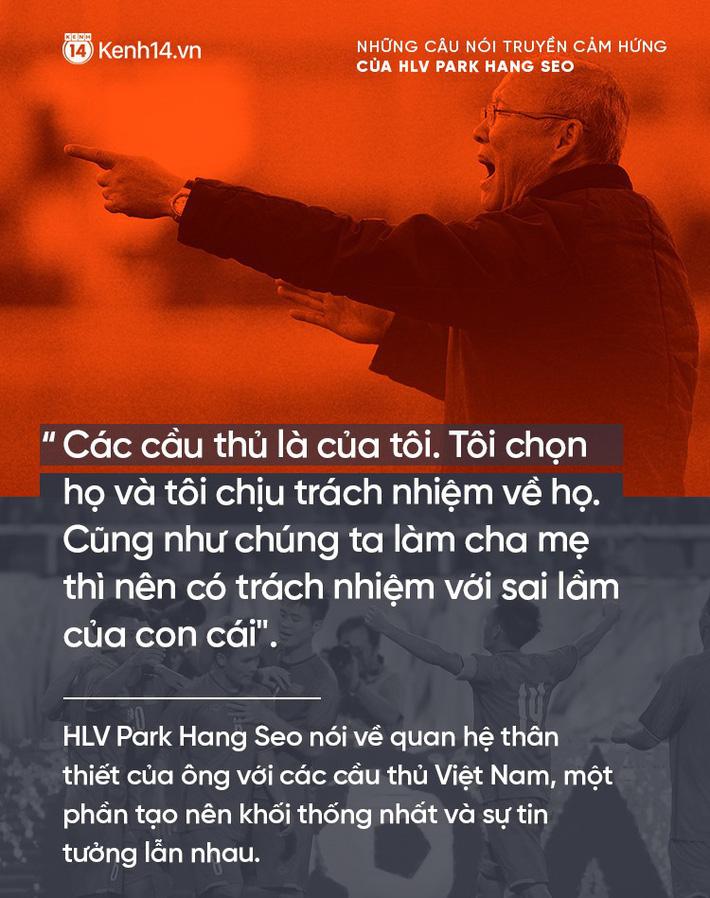 Những câu nói truyền cảm hứng của HLV Park Hang Seo cho bóng đá Việt Nam 3