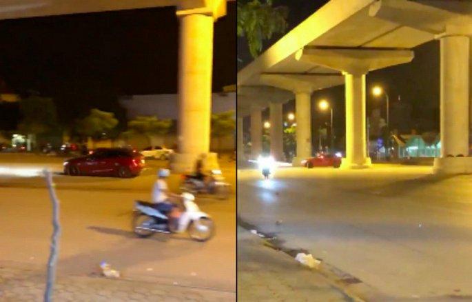 Truy tìm tài xế Mazda 3 phóng tốc độ cao trên phố Hà Nội 1