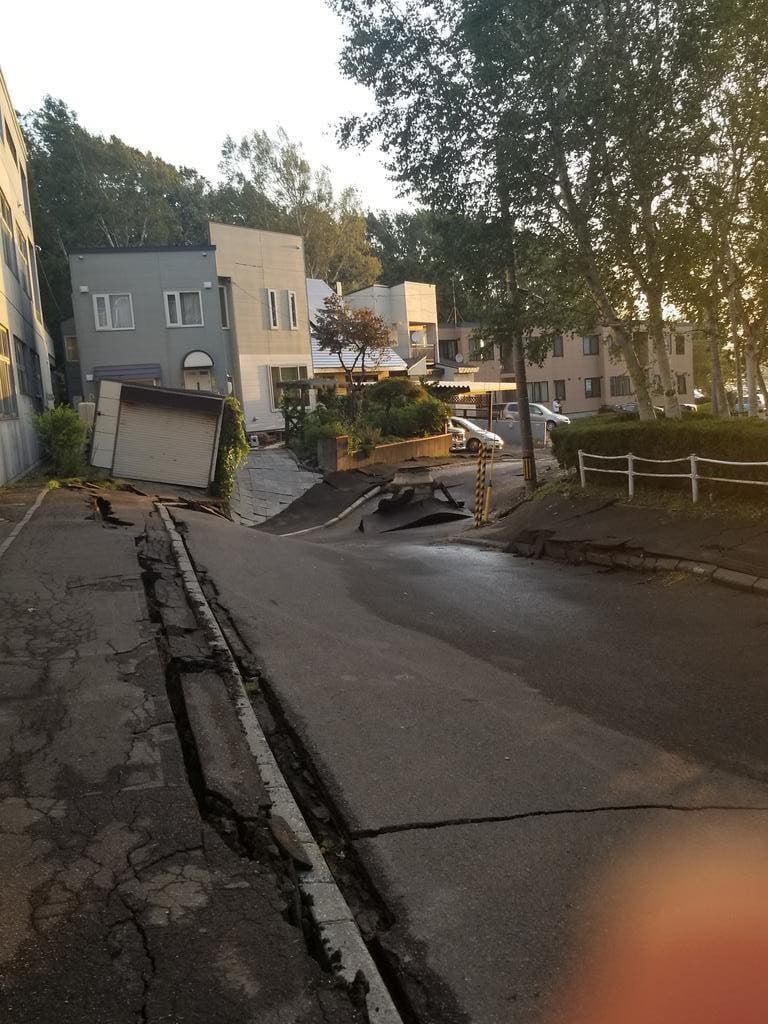 Động đất chôn vùi nhiều nhà cửa ở Nhật, du học sinh Việt đang trong tình trạng hết sức hoang mang, lo lắng 7