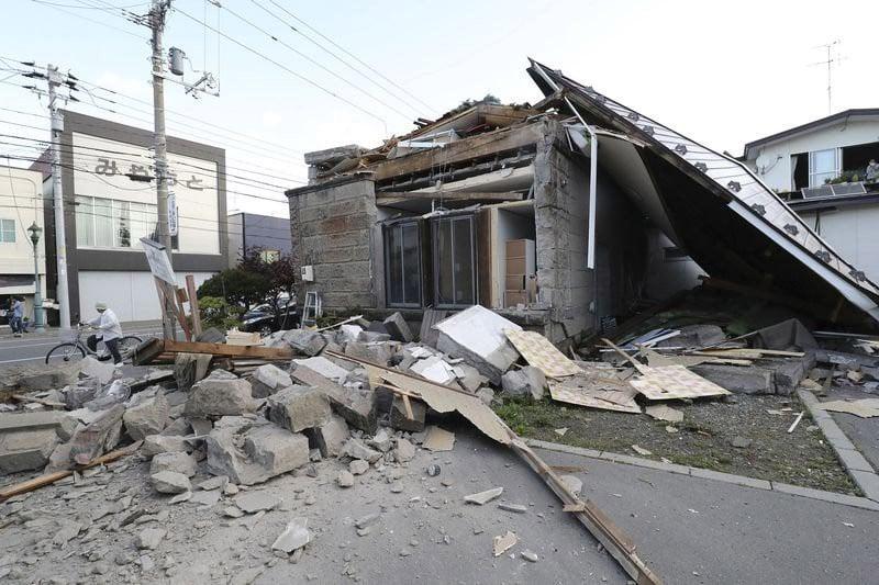 Động đất chôn vùi nhiều nhà cửa ở Nhật, du học sinh Việt đang trong tình trạng hết sức hoang mang, lo lắng 10