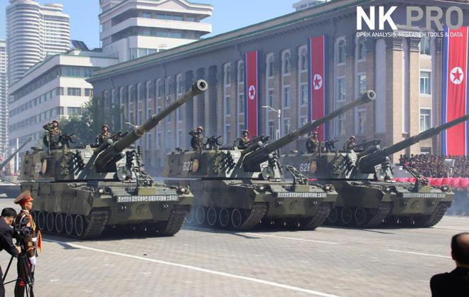 Hé lộ những hình ảnh đầu tiên trong lễ duyệt binh quân sự hoành tráng của Triều Tiên 6