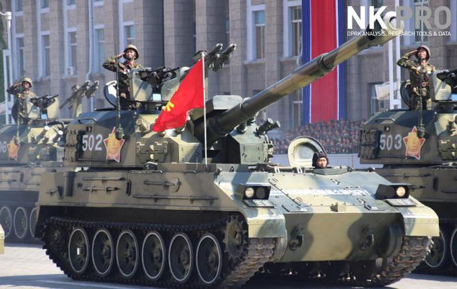 Hé lộ những hình ảnh đầu tiên trong lễ duyệt binh quân sự hoành tráng của Triều Tiên 7