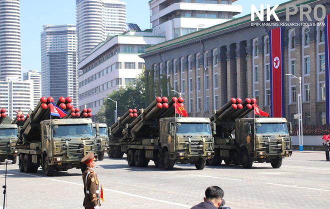 Hé lộ những hình ảnh đầu tiên trong lễ duyệt binh quân sự hoành tráng của Triều Tiên 11