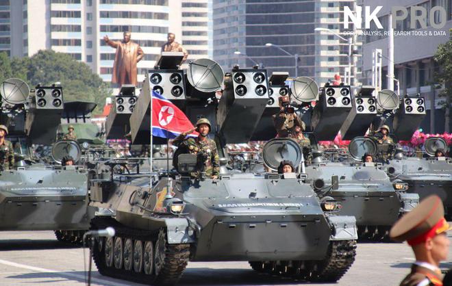 Hé lộ những hình ảnh đầu tiên trong lễ duyệt binh quân sự hoành tráng của Triều Tiên 15