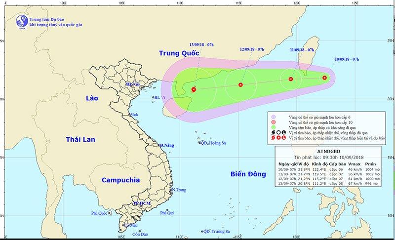 Áp thấp gần biển Đông, khả năng mạnh thành bão số 5 1