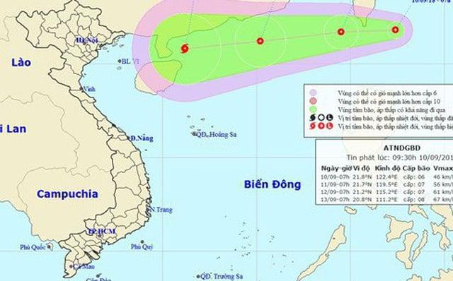 Bão và siêu bão có khả năng xuất hiện trên Biển Đông trong vài ngày tới 1