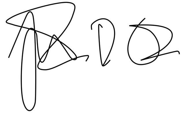 Chữ ký từ đơn giản, nguệch ngoạc tới cầu kỳ, uốn lượn tiết lộ tính cách và báo trước dấu hiệu giàu sang của các tỷ phú  - Ảnh 1.
