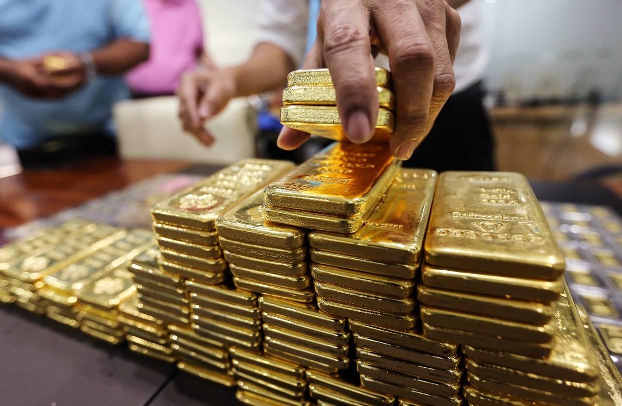Hình ảnh Giá vàng hôm nay 11/9: Vàng giảm trước lo ngại căng thẳng Mỹ - Trung số 1