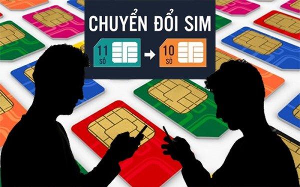 Lịch chuyển đổi SIM 11 thành 10 số của các nhà mạng 1