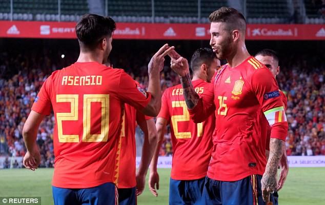 Á quân World Cup 2018 nhận thất bại không tưởng trước Tây Ban Nha 6