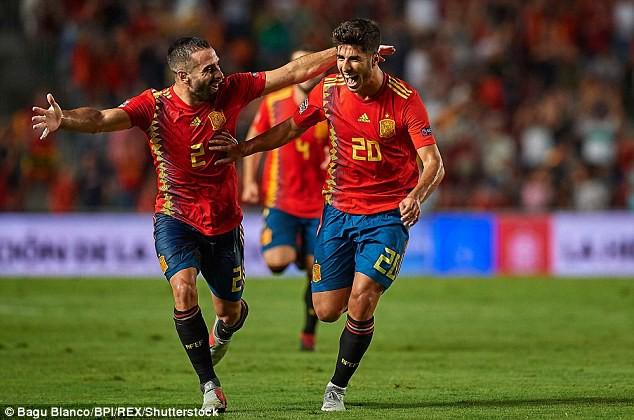 Á quân World Cup 2018 nhận thất bại không tưởng trước Tây Ban Nha 4