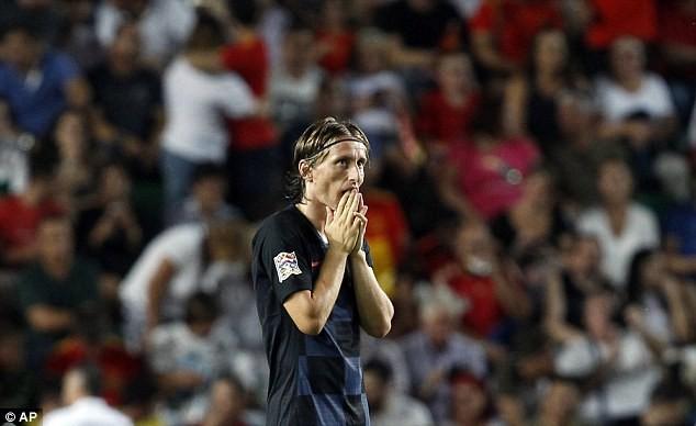 Á quân World Cup 2018 nhận thất bại không tưởng trước Tây Ban Nha 7